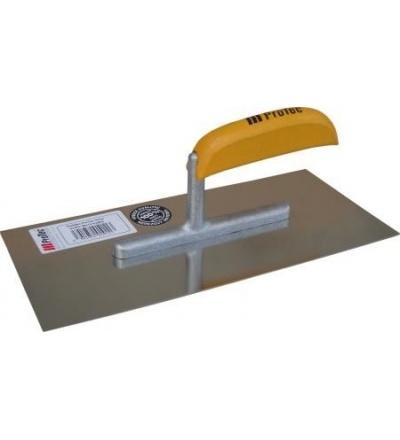 Hladítko ProTec, nerezové EURO, zub 6 mm, s drevěnou rukojetí, 280 x 130 mm 803073