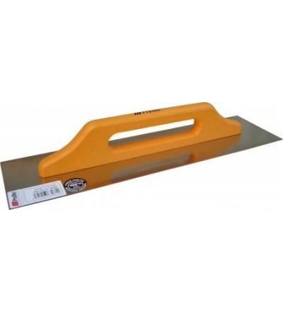 Hladítko ProTec, nerezové, zub 10 mm, s drevěnou rukojetí, 490 x 130 mm 803065