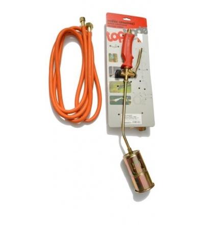 Hořák PB, s hadicí 3 m, regulátorem tlaku a směšovací komorou, 60 mm x 550 mm, profi 706001