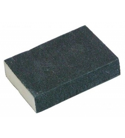Houbička brusná, zrnitost 100, 100 x 70 x 25 mm 502850