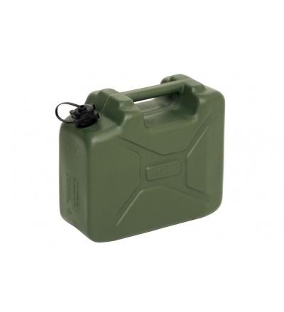 Kanystr plastový, army, na PHM, 10l 309325