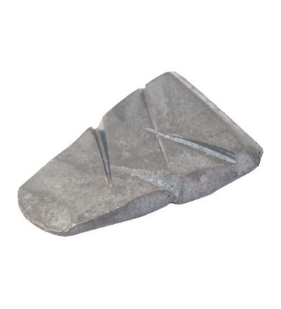 Klínky ocelové, kované, balení 10 ks, 25 x 5 x 36 mm 108133