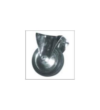 Kolečko pevné, kov, pryž, O 100 mm / 60 kg 705009