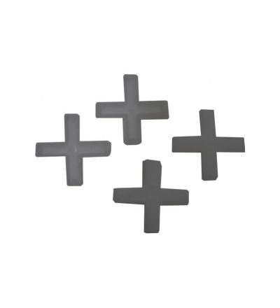 Křížky plastové, spárovací, duté, 10 mm / 100 ks 600448