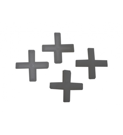 Křížky plastové, spárovací, duté, 6 mm / 100 ks 600446
