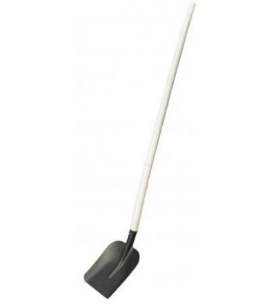 Lopata ocelová, standard,  černý lak  105327
