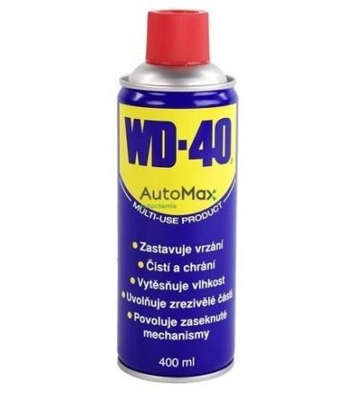Mazivo univerzální WD40, 400 ml 800502