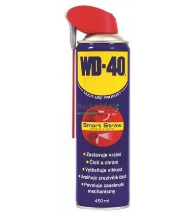 Mazivo univerzální WD40 Smart - Straw, 450 ml 800504