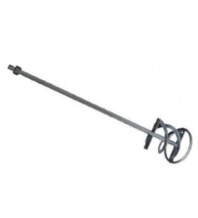 Míchadlo plechové, pozinkované, s kruhem a závitem M14, O 140 mm 105271