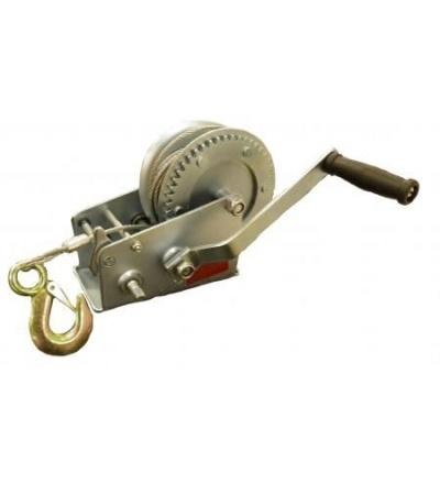 Naviják ruční, hák a lano, O 4,5 mm x 8 m, nosnost 350 kg 707110