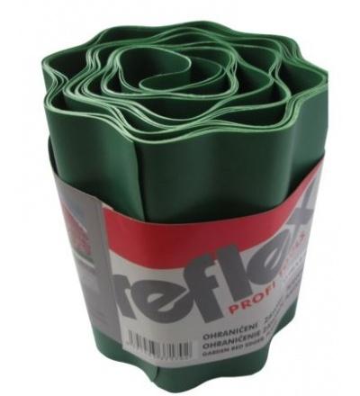 Ohraničení záhonu plastové, 150 mm x 6 m 307170