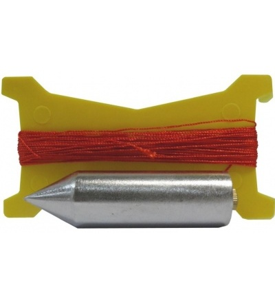 Olovnice pozinkovaná, s provázkem, sada,  300 g / 15 m 600641