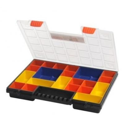 Organizér plastový, norP, miskový systém, 399 x 303 x 50 mm 600336