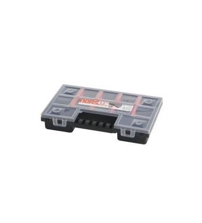 Organizér plastový, norS, přepážkový systém, 287 x 186 x 50 mm 600337