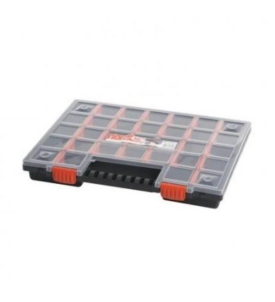 Organizér plastový, norS, přepážkový systém, 399 x 303 x 50 mm 600339