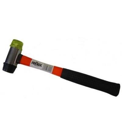 Palice gumová, pryž / plast se sklolaminátovou násadou, O 35 mm / 650 g,  600221