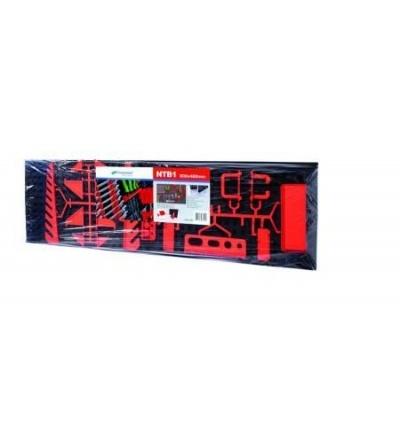 Panel plastový, závěsný na nářadí, 800 x 80 x 240 mm 600312