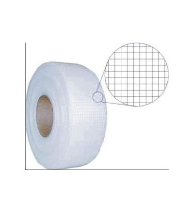 Páska lepící mesh tape, skelná bandáž, 50 mm x 153 m 701204