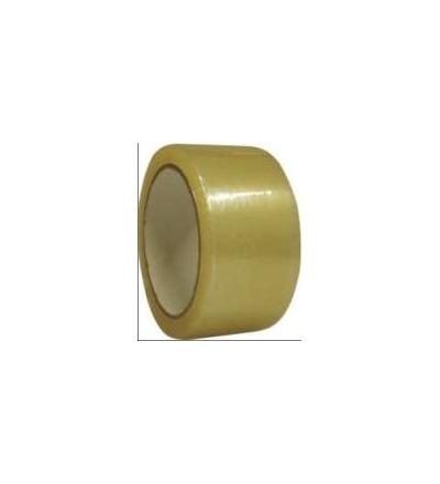 Páska lepící, transparentní, na kartony, 25 mm x 66 m 701015
