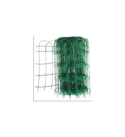 Pletivo okrasné, zelené, 65 cm / 25m 704002