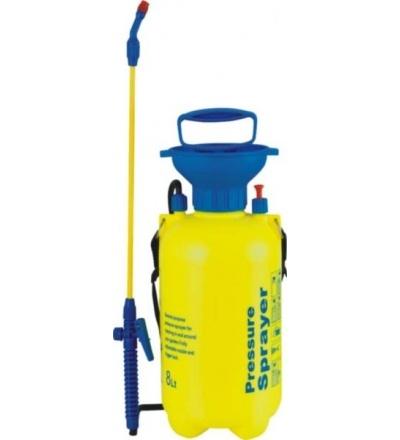 Postřikovač plastový, tlakový, přes rameno, 8l 307056