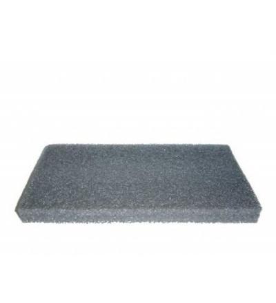 Povrch náhradní, mirelon šedý, 250 x 130 x 20 mm 105203