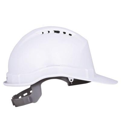 Přilba stavební, ochranná, bílá 600236