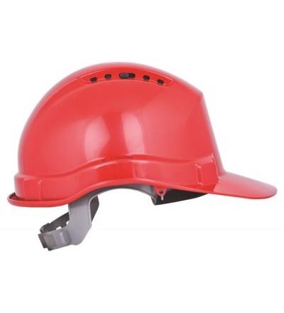 Přilba stavební, ochranná, červená 600237