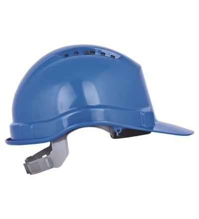 Přilba stavební, ochranná, modrá 600135
