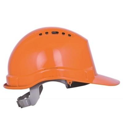 Přilba stavební, ochranná, oranžová 600238
