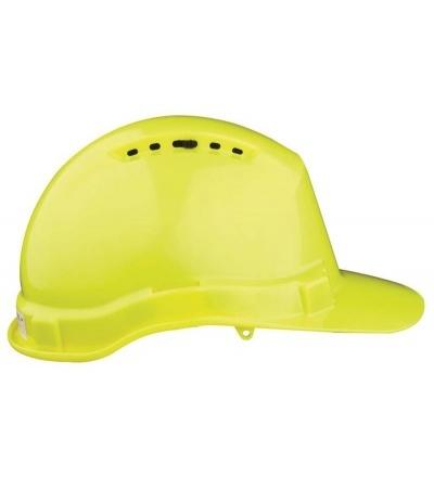 Přilba stavební, ochranná, žlutá 600235