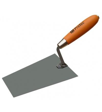 ProTec lžíce, zednická, ocelová, černá, 160 x 130 mm 803144