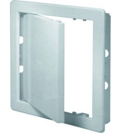 REFLEX dvířka revizní, plastová, bílá, 150 x 150 mm 600860