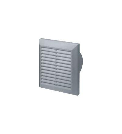 REFLEX mřížka větrací,plastová, bílá, hranatá, se síťkou, 165 x 165 /140 x 140 mm, vývod O 100 mm 600809