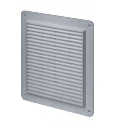 REFLEX mřížka větrací,plastová,bílá,hranatá,se síťkou,plochá,bez vývodu,250x250/200x200mm 600838