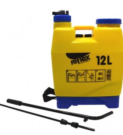 REFLEX postřikovač plastový,zádový, se sítkem a pákovým tlakováním, 12l 307057