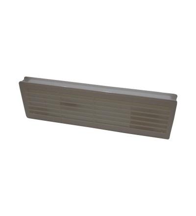 REFLEX průchodka dveřní, plastová, bílá, 120 x 440 mm 600873