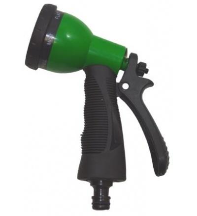 REFLEX rozstřikovač plastový, pistolový, 9 funkcí 307135