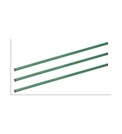 Sloupek plotový, železný, zelený, 2,3 m 703003