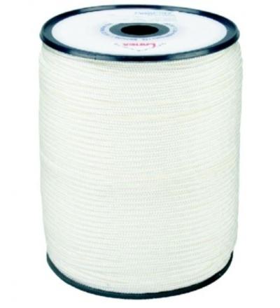 šňůra pletená, PA, s jádrem,  O 2 mm x 200 m, Lanex 405007