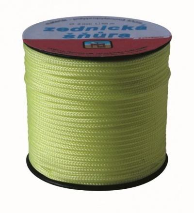 šňůra pletená, PPV, zednická, bez jádra, O 1,8 mm x 50 m, Lanex 405078