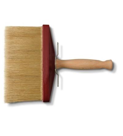 štětka malířská, hranatá, s dřevěnou rukojetí, 180 x 80 x 90 mm, profi 506052