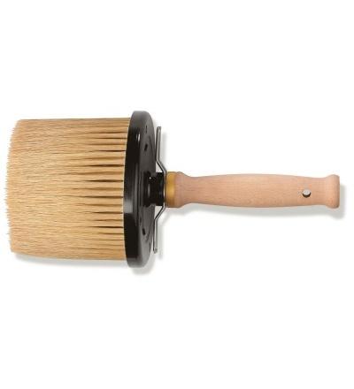 štětka malířská, kulatá, s dřevěnou rukojetí, 100 mm / O 130 mm, profi 506051