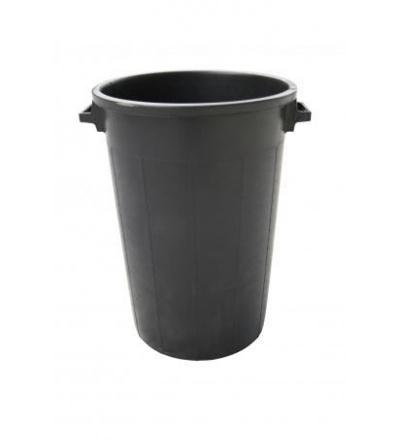 Sud plastový, černý, 75l 309305