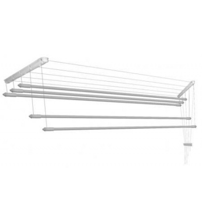 Sušák na prádlo IDEAL, stropní, 6 tyčí, 1900 mm 900705