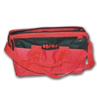Taška na nářadí, pracovní, plátěná, se zipem, 370 x 270 x 210 mm 606025