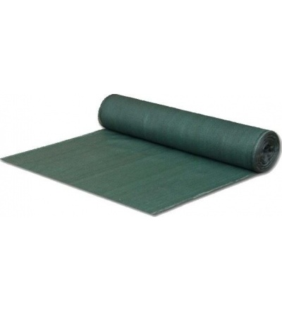 Tkanina stínící, zelená, 1,5 x 50 m, 80 g / m2 600252