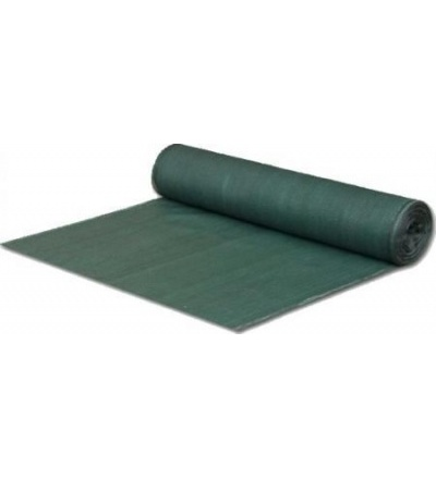 Tkanina stínící, zelená, 1 x 10 m, 80 g / m2 600790