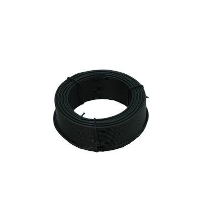 TOPTRADE drát vázací, poplastovaný, zelený, O 1,4 mm / 50 m 702021