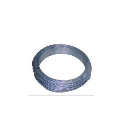 TOPTRADE drát vázací, pozinkovaný, O 0,8 mm / 100 m 702011